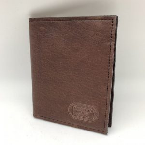 Buffalo Leather Passport Wallet - Brown by Buffalo Billfold Company
