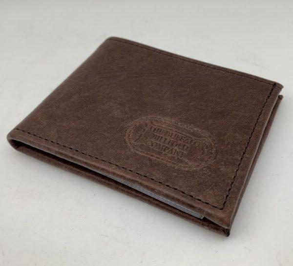 Buffalo Leather Two Fold Wallet by Buffalo Billfold Company
