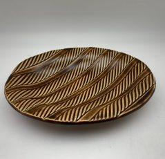 Oval Serving Dish by Lynn Munns - Z/19