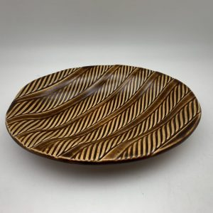 Oval Serving Dish by Lynn Munns - Z/19