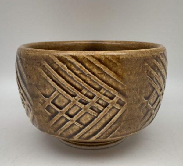 White Stoneware Bowl by Lynn Munns - Z/15