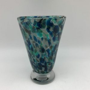 Bright Speckle Cup - Lagoon Kingston Glass Studio
