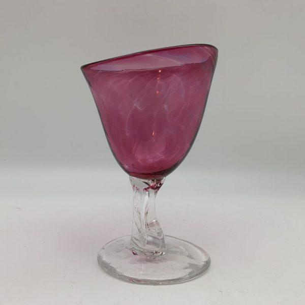 Wauhatchie Wine Glass - Dark Pink