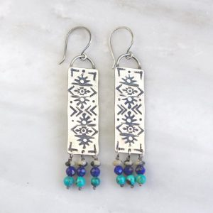 Sun Rug Fringe Earrings Sarah Deangelo