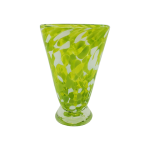 Speckle Cup - Citrus Lime Kingston Glass Studio