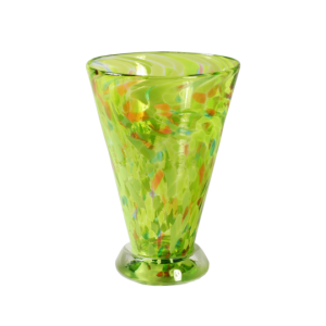 Speckle Cup - Green Kingston Glass Studio