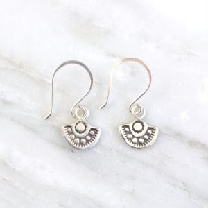 Wanderer Mini Charm Earrings Sarah Deangelo