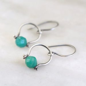 Russian Amazonite La Cloche Earrings Sarah Deangelo