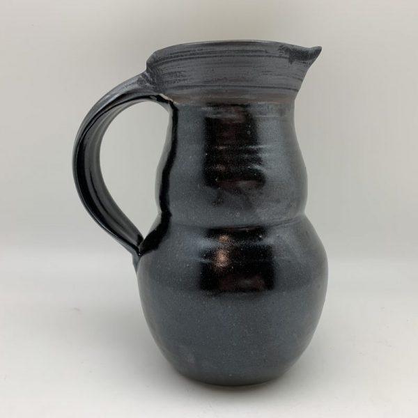 Black Porcelain Pitcher by Margo Brown