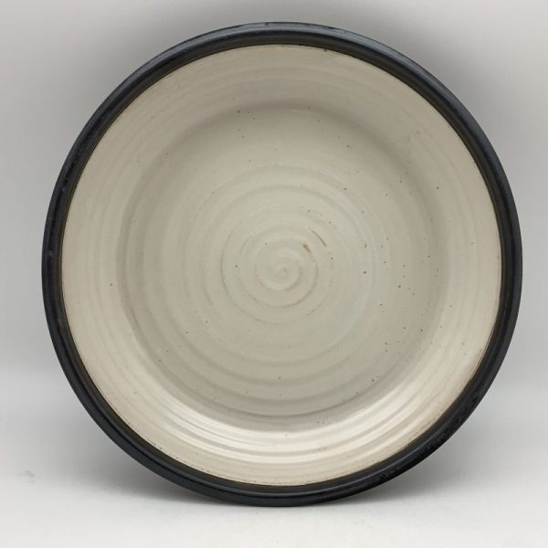 White Porcelain Pie Plate by Margo Brown