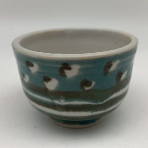 Mini Dotted Porcelain Bowl by Margo Brown