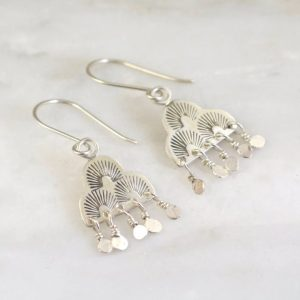 After the Rain Fringe Earrings Sarah Deangelo