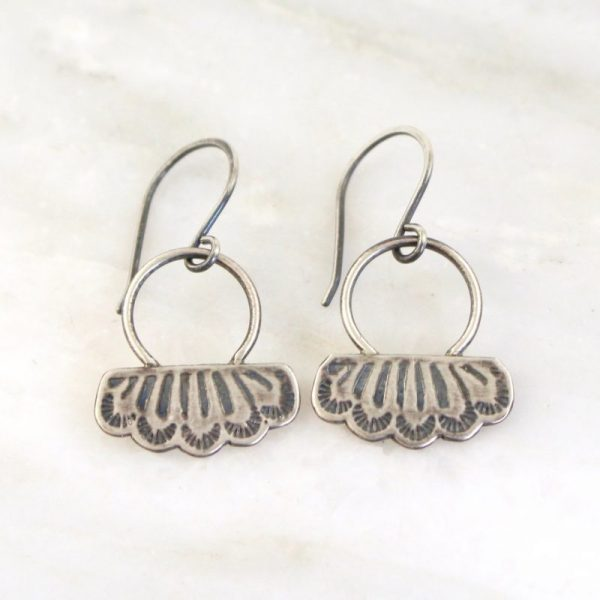 Southwest Lace Loop Earrings Sarah Deangelo