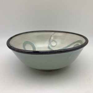 Celadon Stoneware Bowl by Margo Brown