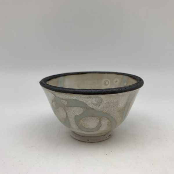 Tiny Loop-Design Bowl by Margo Brown