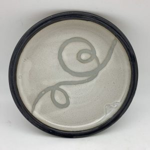 Small Loop-Design Plate by Margo Brown