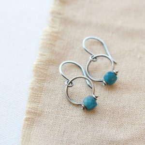 Apatite La Cloche Earrings Sarah Deangelo