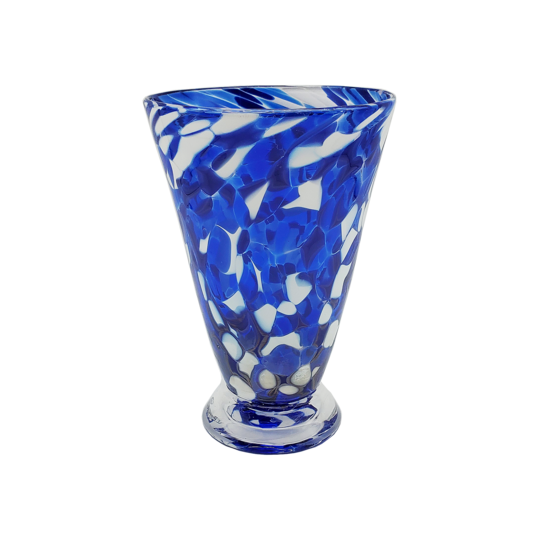 Speckle Cup - Royal Blue Kingston Glass Studio