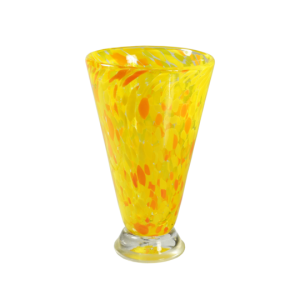 Speckle Cup - Yellow Kingston Glass Studio