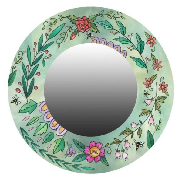 Spring Meadow Mirror by Sincerely Sticks