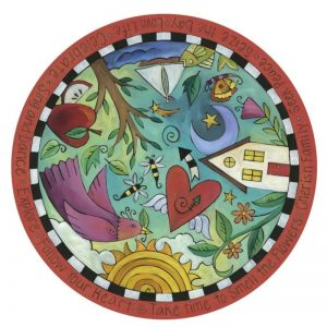 Playful Day Lazy Susan by Sincerely Sticks