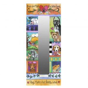 A Dog's World Mirror by Sincerely Sticks