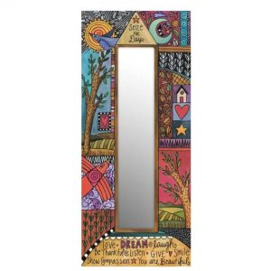 Creative Heart Mirror by Sincerely Sticks