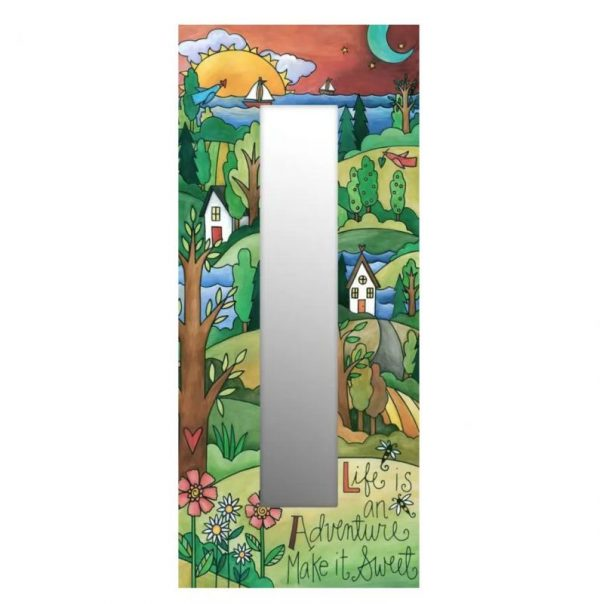 The Right Path Mirror by Sincerely Sticks