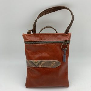 Passport Bag - Brown Traci Jo Designs