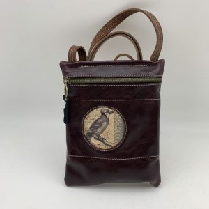 Passport Bag - Dark Brown Traci Jo Designs