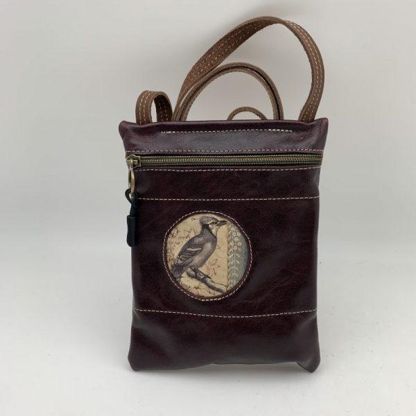 Passport Bag - Dark Brown Traci Jo Designs