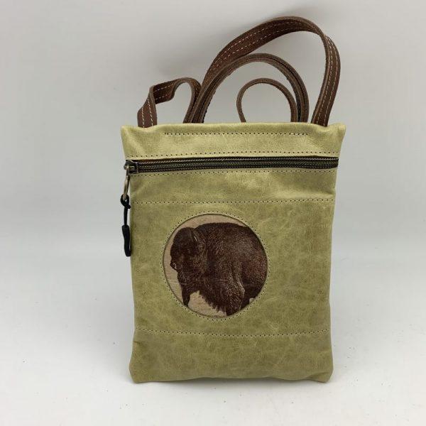 Passport Bag - Light Green Traci Jo Designs