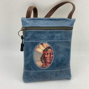 Passport Bag - Blue Traci Jo Designs