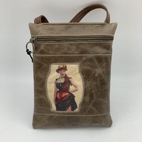 Passport Bag - Tan Traci Jo Designs