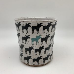 Multi Moose Mania Mug Stephen Mullins Red Bison Studio