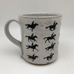 Muybridge Gallop Mug Stephen Mullins Red Bison Studio