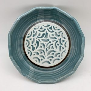 Scalloped Pie Plate by Margo Brown - 2128