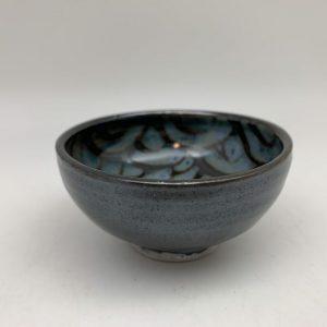 Mini Scalloped-Interior Bowl by Margo Brown - 2157