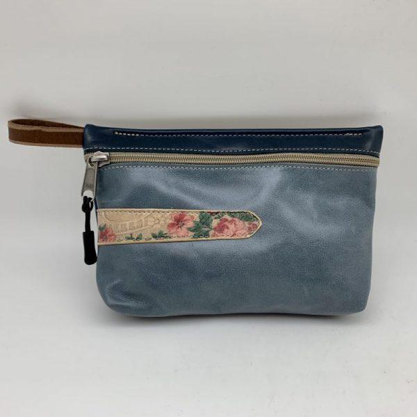 Everyday Stash Bag - Light Blue Traci Jo Designs