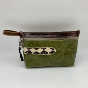 Everyday Stash Bag - Dark Green Traci Jo Designs