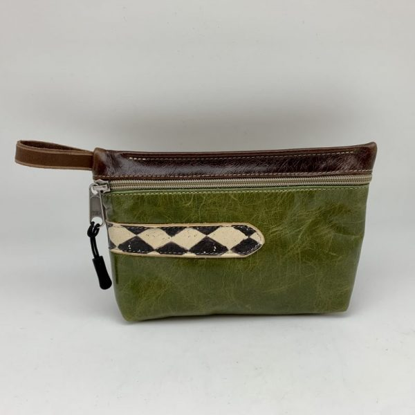 Everyday Stash Bag - Dark Green Traci Jo Designs
