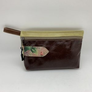 Everyday Stash Bag - Dark Brown Traci Jo Designs