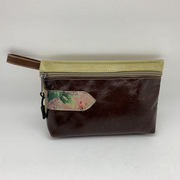Everyday Stash Bag - Dark Brown Traci Jo Designs