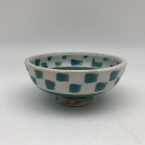 Mini Checkered Dish by Margo Brown - 2284