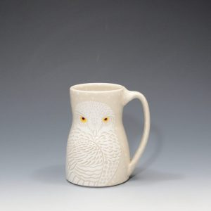 Snowy Owl Mug Sue Tirrell