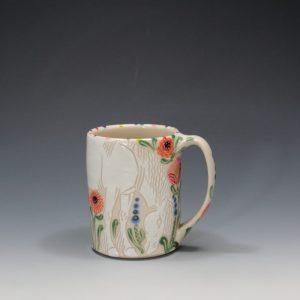 White Horse Mug Sue Tirrelll